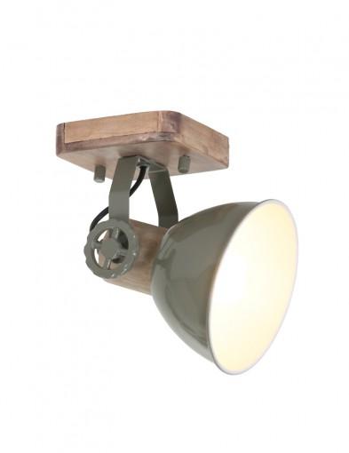 foco de madera verde-7968G