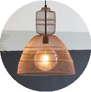 lampara de techo led