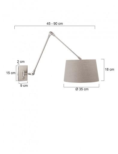 Aplique-gris-regulable-9724ST-5