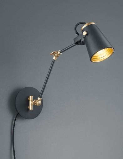 aplique-de-pared-ajustable-negro-1797ZW-1