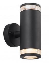 aplique de pared cilindrico negro-2149ZW
