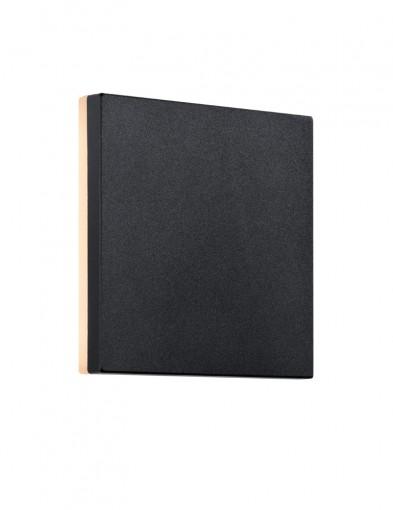 aplique negro para exterior artego-2303ZW