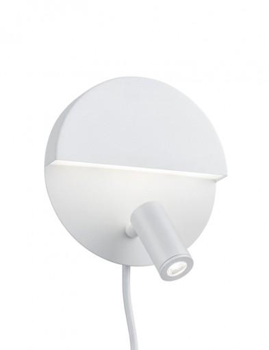 aplique redondo blanco luigi-1795W