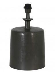 base de lampara cilindrica negra-2066ZW