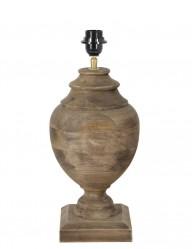base de lampara en madera-1674B