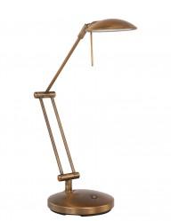 flexo led ajustable bronce-7558BR