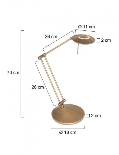 flexo-led-bronce-2109BR-7