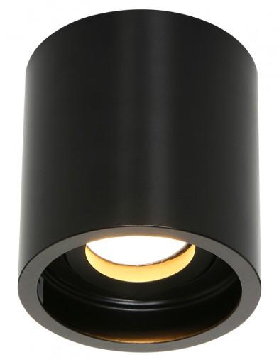 foco de acero negro-1731ZW