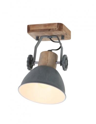 foco de madera gris-7968GR