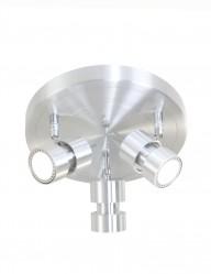 foco de techo moderno de tres luces-7905ST