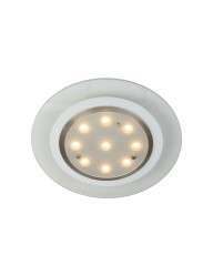 foco empotrable led vidrio-7480ST
