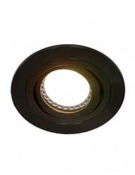 foco empotrable negro-7304ZW