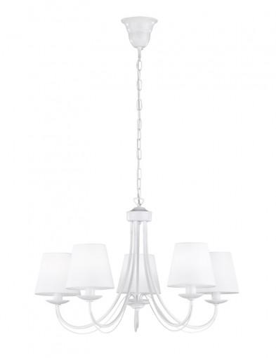 lampara arana blanca pantalla-1616W