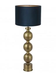 lampara azul de esferas-9173GO