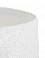 lampara-bronce-y-pantalla-blanca-9951BR-1
