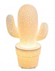 lampara cactus de ceramica-1718W