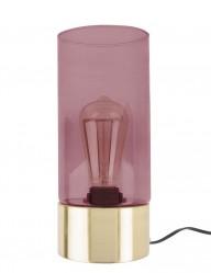 lampara-cilindrica-rosa-y-dorada-10112RZ-1