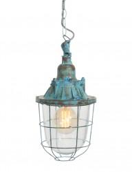 lampara colgante azul marino-8823BL