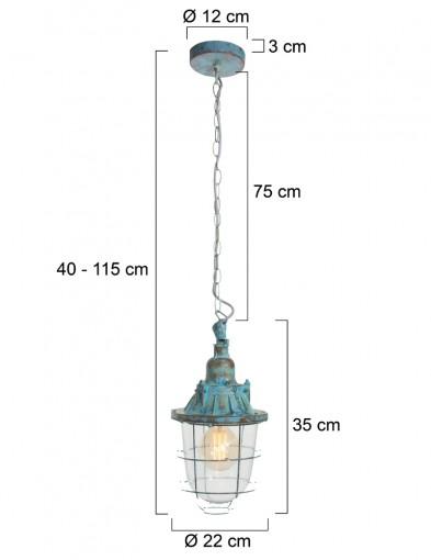 lampara-colgante-azul-marino-8823BL-9