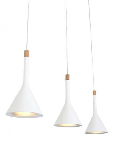 lampara colgante blanca-7807W