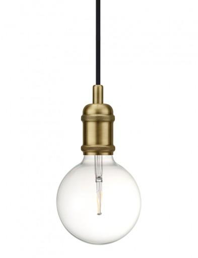 lampara colgante bombilla dorada-2145ME