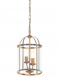 lampara colgante bronce-5971BR
