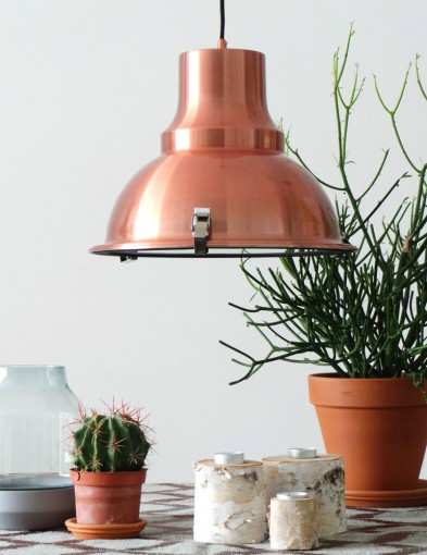 lampara colgante cobre-5798KO
