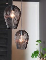 lampara colgante de alambre-1740ZW