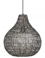 lampara colgante de alambre gris-1961GR