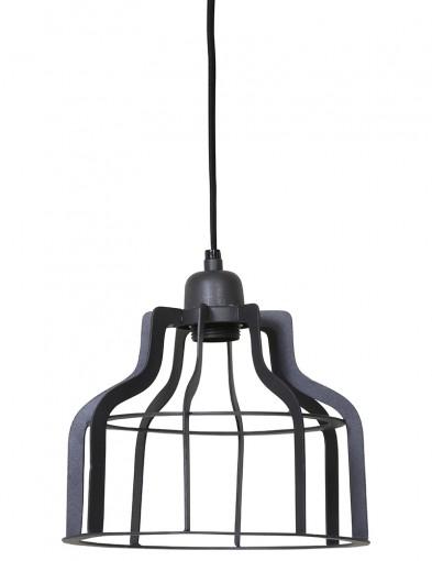lampara colgante de jaula-1757GR