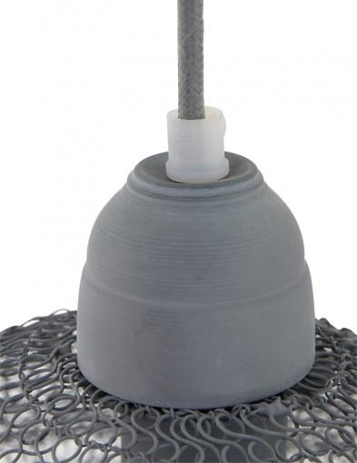lampara-colgante-de-malla-gris-1377GR-2