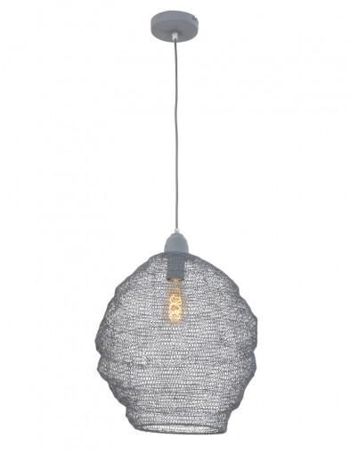 lampara-colgante-de-malla-gris-1377GR-4