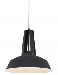 lampara colgante de metal industrial-7704zw