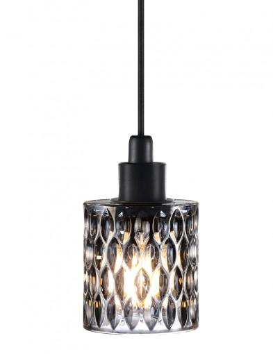 lampara colgante de vidrio-2307GR