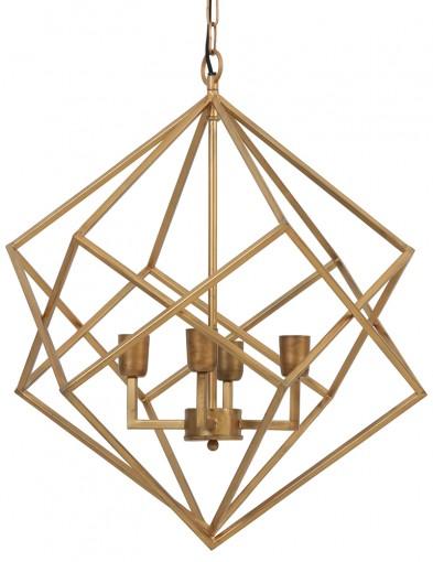 lampara colgante dorada drizella-2031GO