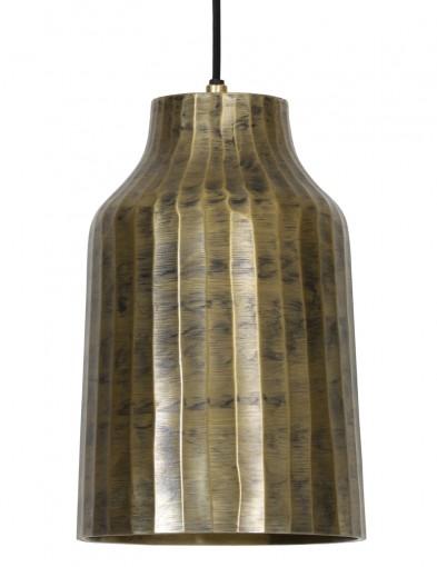 lampara colgante dorada industrial-2035GO