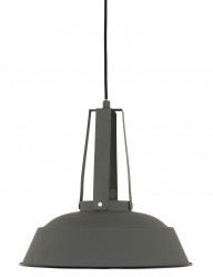lampara colgante gris industrial-7703gr