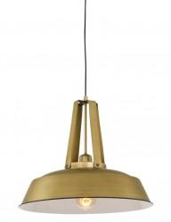 lampara colgante industrial dorada-7704GO