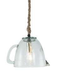 lampara colgante jarra de vidrio-1193W