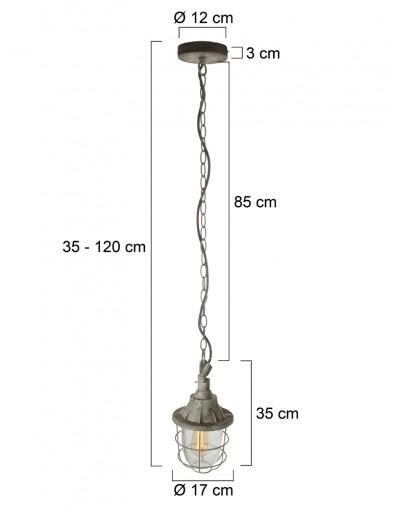 lampara-colgante-marinera-8819GR-8