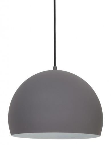 lampara colgante moderna en gris-1974GR