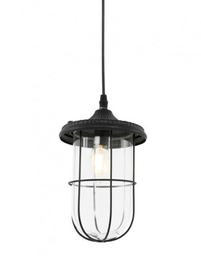 lampara colgante para cocina en negro-1064ZW