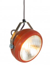 lampara colgante rojo suave-8891RO