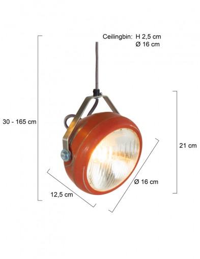lampara-colgante-rojo-suave-8891RO-4