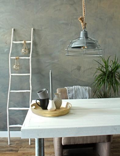 lampara colgante rustica-7776gr