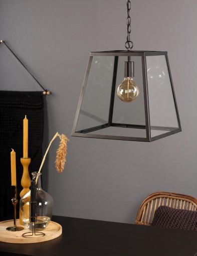 lampara colgante vidrio-1014ZW