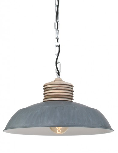 lampara comedor rustica gris-7974GR