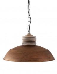 lampara comedor rustica marron-7974B