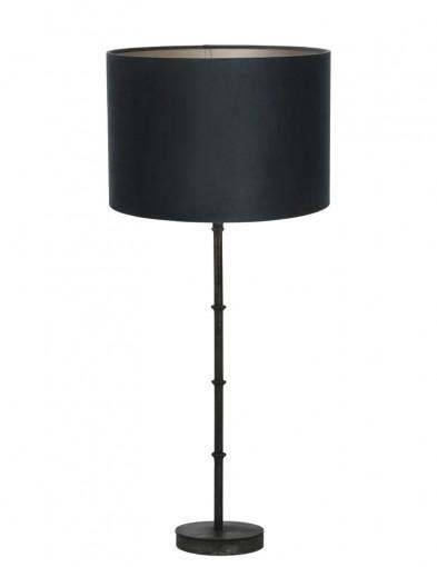 lampara con pantalla azul-9986ZW