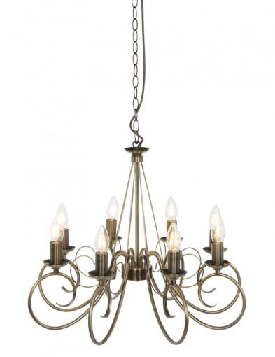 lampara de arana bronce-8541BR